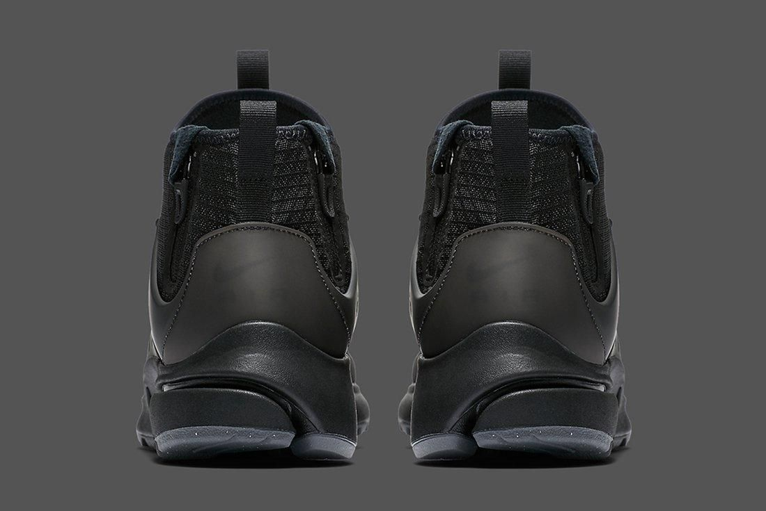Nike Air Presto Mid Utility Triple Black 1