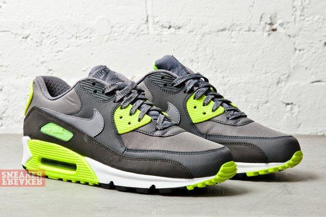 air max 90 essential neon green