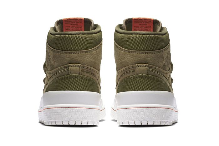 Air Jordan 1 High Double Strap Olive 3