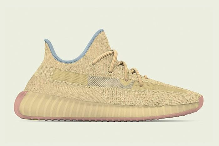 Adidas Yeezy Boost 350 V2 Linen Lateral