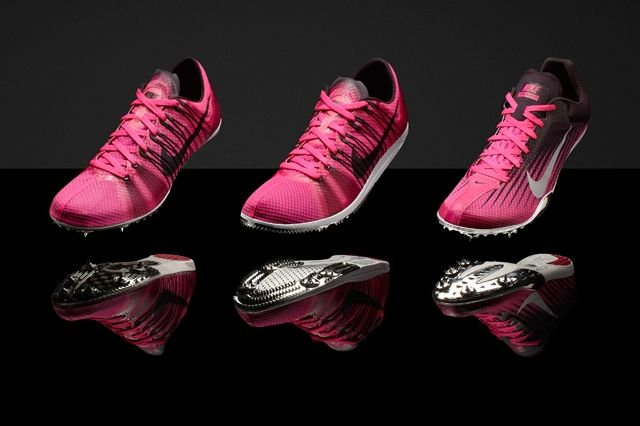 Pink Foil Nike Distance Group