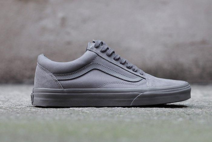 Vans Old Skool Mono Tornado Grey