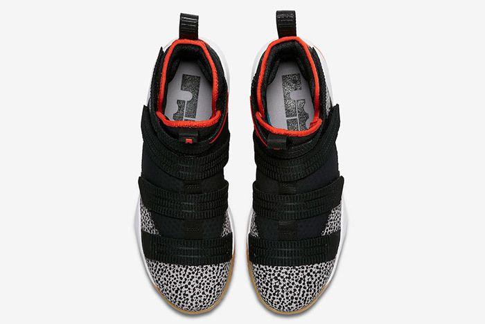 Nike Le Bron Soldier 11 Sfg Safari 897646 006 Sneaker Freaker 4