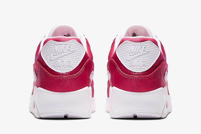 Nike Air Max 90 Hyper Crimson 881105 800 Heel Shot 4