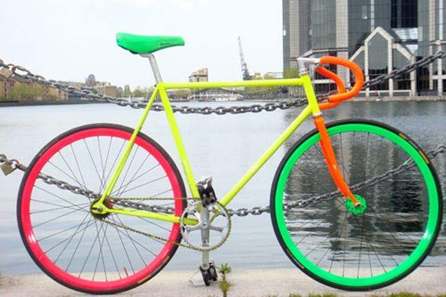 Fluro Bike Benedict Radcliffe 2 3