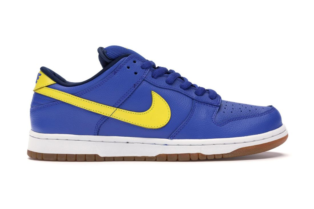 Nike Sb Dunk Low Boca Jr 304292 471 Lateral