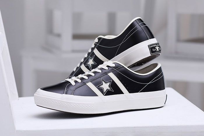 Converse Japan Stars Bars Vintage Leather Styled