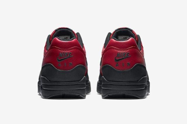 Nike Air Max 1 Leather Gym Red 5