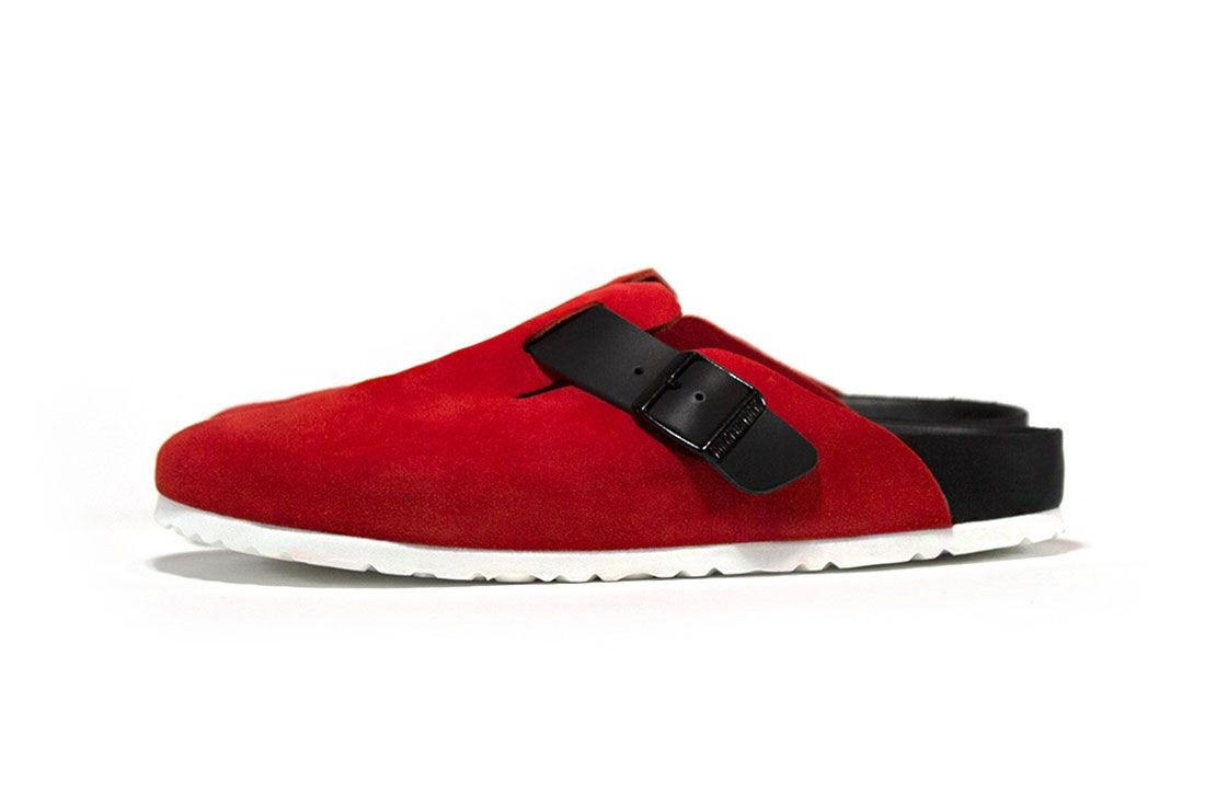 Concepts Birkenstock Boston Rose Front Angle 2