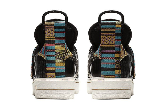 Nike Air Force 1 Utility Bhm Heel Shot 4