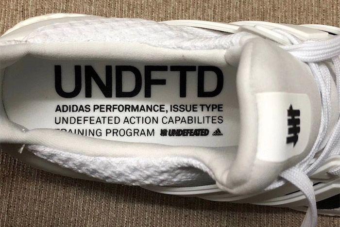 Undefeated X Adidas Ultraboost White Black Release Details Sneaker Freaker 3