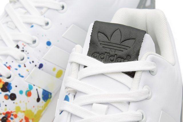 Adidas Zx Flux Splattered Toe Bumper 4