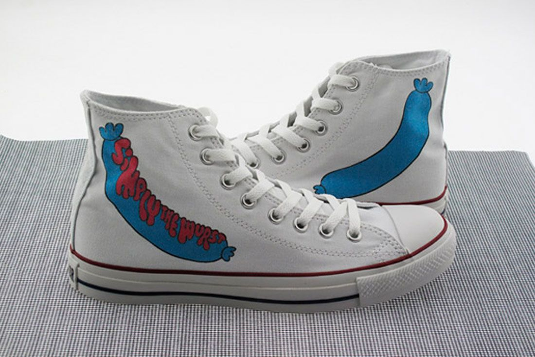 Parra Converse Chuck Taylor Simply The Wurst
