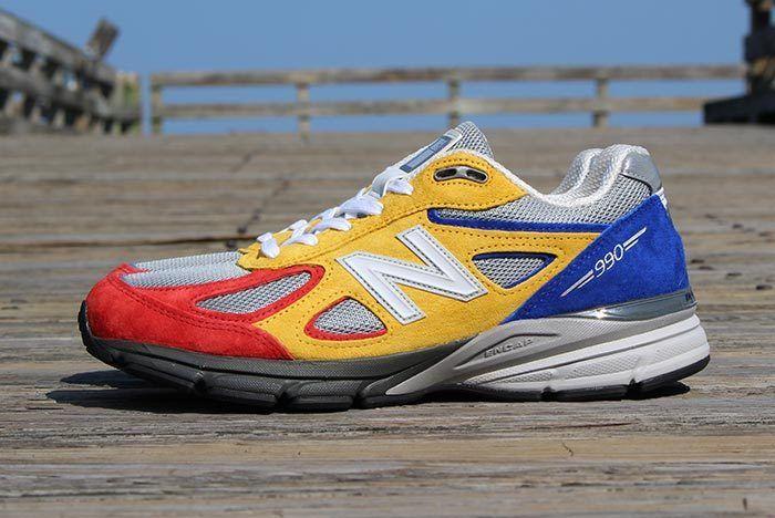 Shoe City X Eat X New Balance 990 V4 1