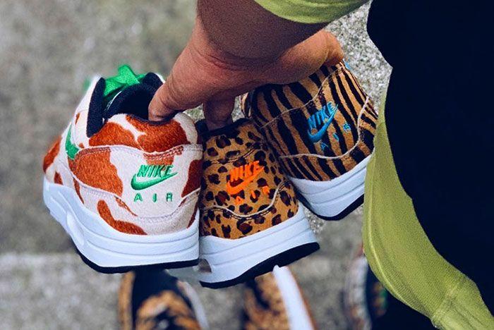 Nike Air Max 1 Atmos Animal 3 In Hand