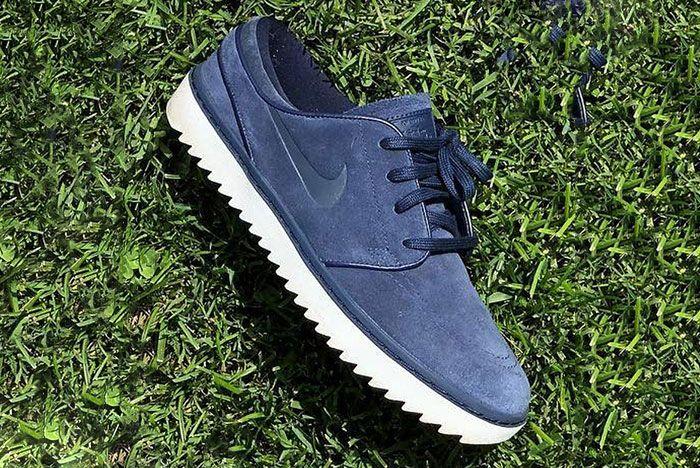 Nike Janoski Golf Shoe 2 Navy Angle