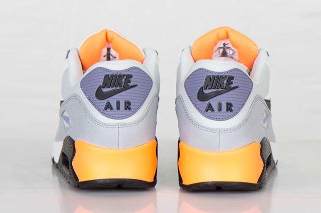 Nike Air Max 90 Essential Iron Purple Atomic Orange 4