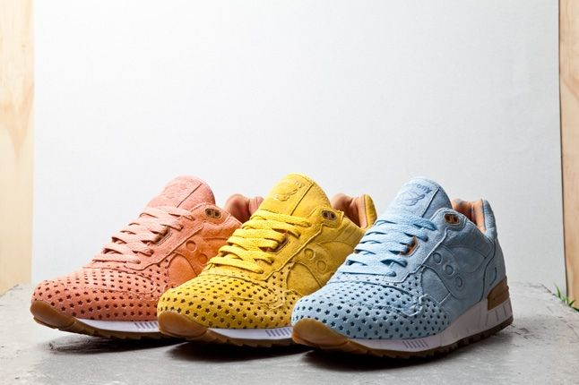 Playcloths X Saucony Shadow 500 Cotton Candy Pack 1