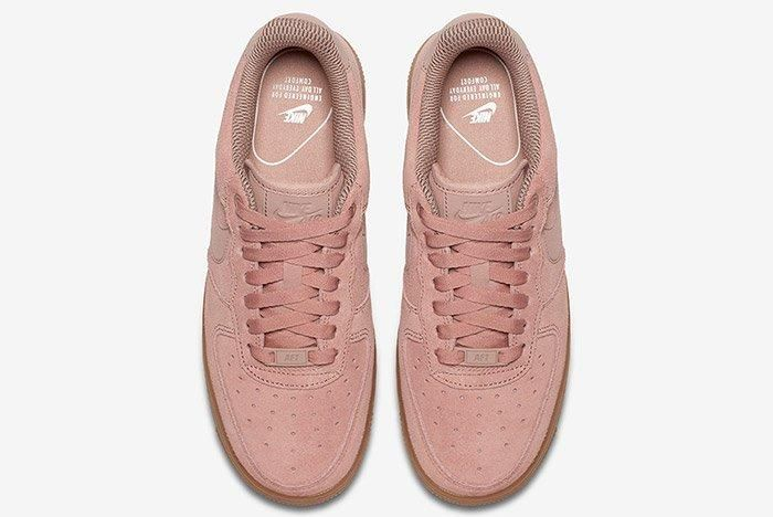 Nike Air Force 1 Low Particle Pink 3
