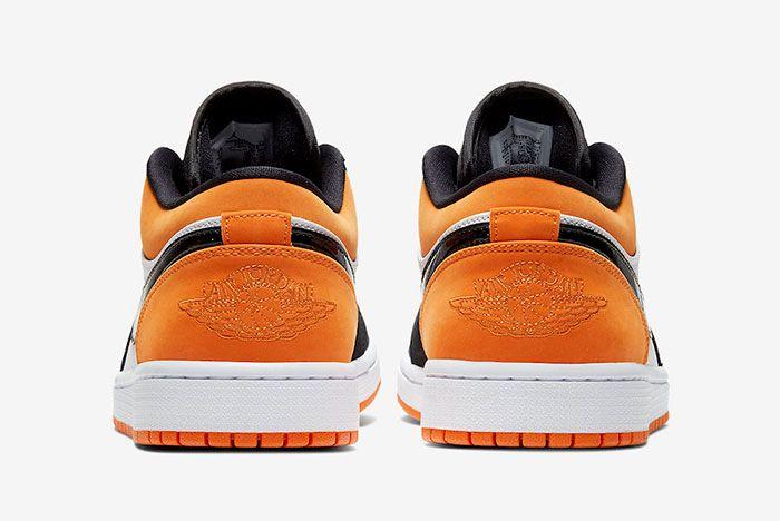 Air Jordan 1 Low Shattered Backboard 553558 128 Heels