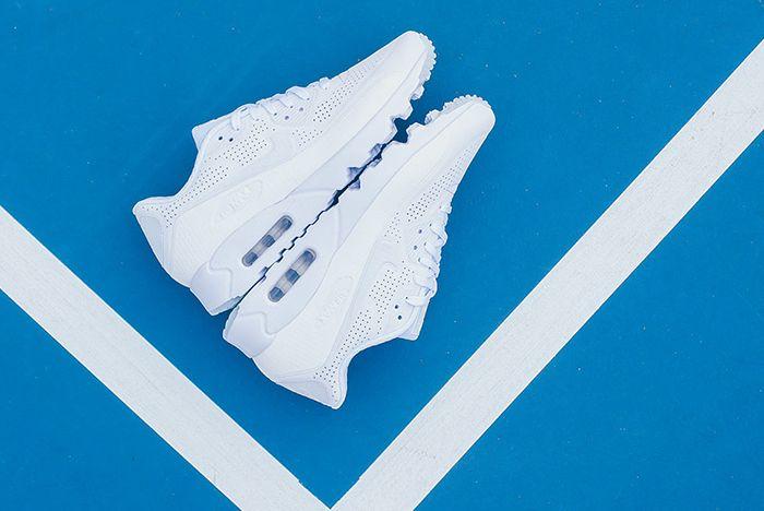 Nike Air Max 90 Ultra Moire Triple White 1