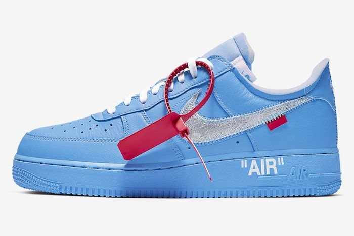 Off White Nike Air Force 1 Mca Left
