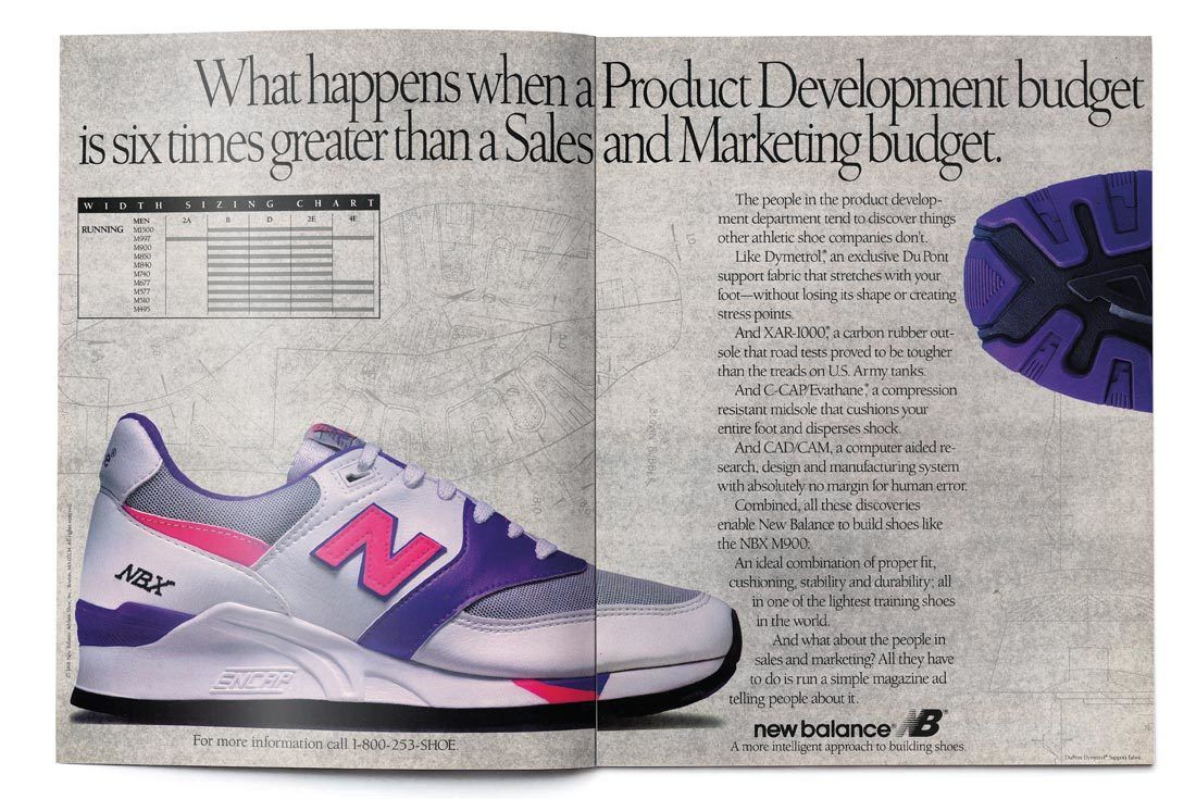 New Balance 997 History Return