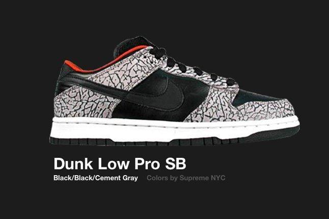 Nike Dunk Low Sb Supreme 2002 1