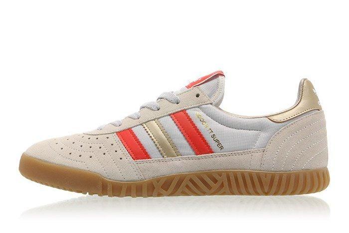 Adidas Indoor Super Clear Brown Smol