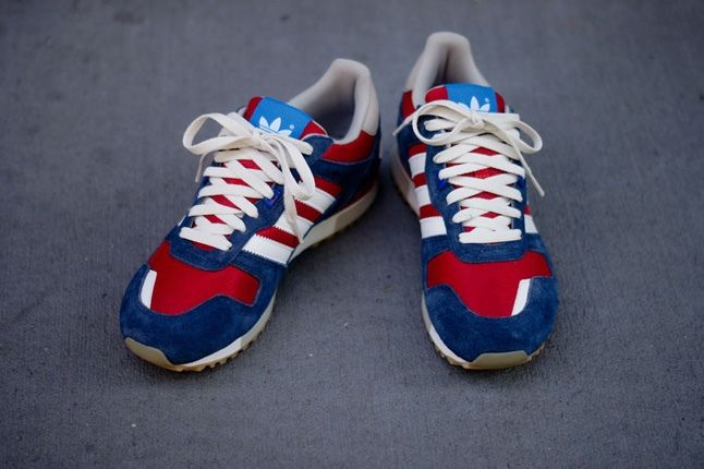 Adidas Zx700 Navy Red Front Hero 1
