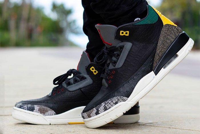 Air Jordan 3 Animal Instinct 2 0 On Feet 5