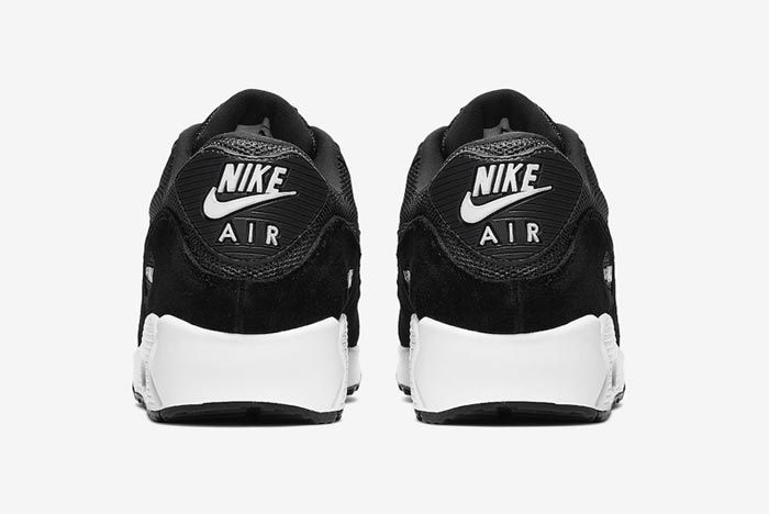 Nike Air Max 90 Anthracite Black Heels