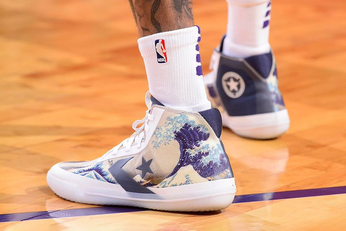 Kelly Oubre Jr Converse All Star Pro Bb Tsunami Pe 1 On Foot