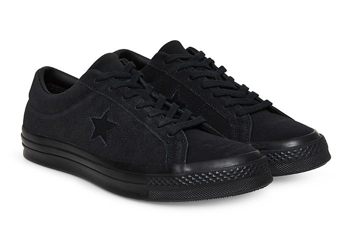 Converse One Star Triple Black