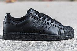 Adidas Superstar Triple Black Thumb