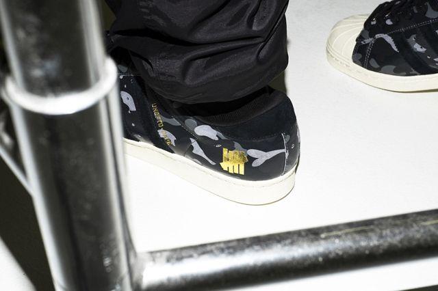 Bape X Undftd X Adidas Consortium Superstar 80 5