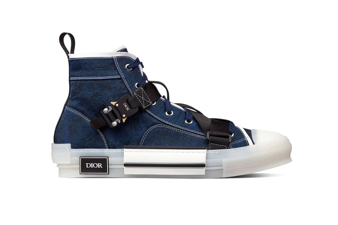 Dior B23 Indigo Technical Canvas Right