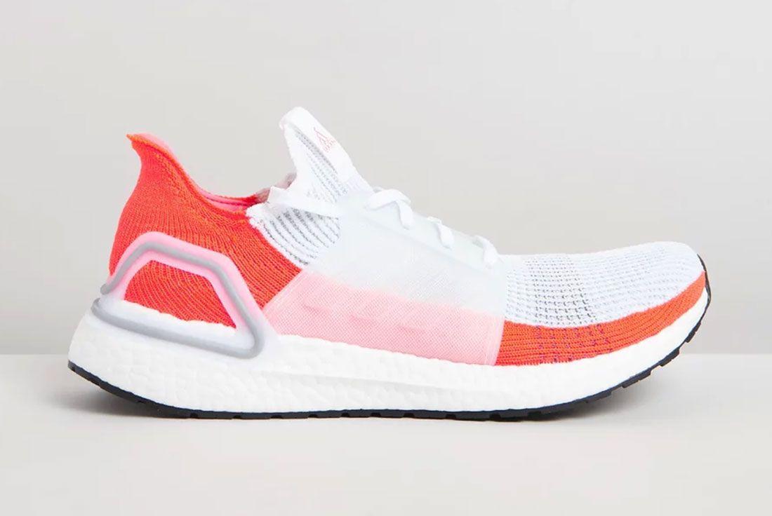 Adidas Ulta Boost 2019 White Orange Sneakerhub