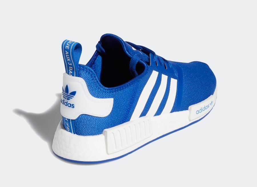 adidas NMD R1 Royal Blue Heel