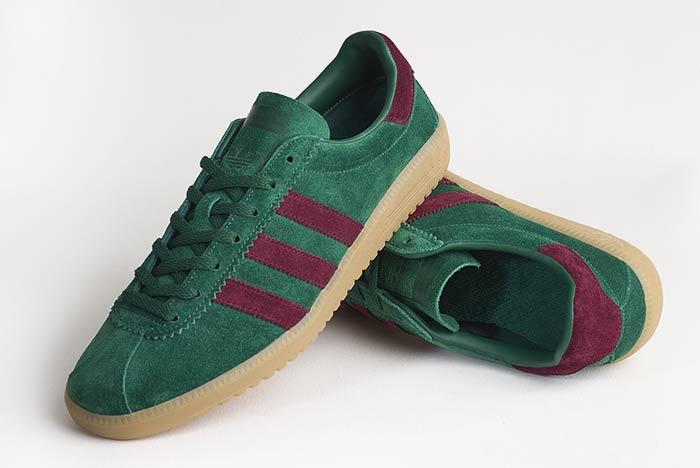 Adidas Originals Bermuda Size Exclusive Pine Greenmaroon 4
