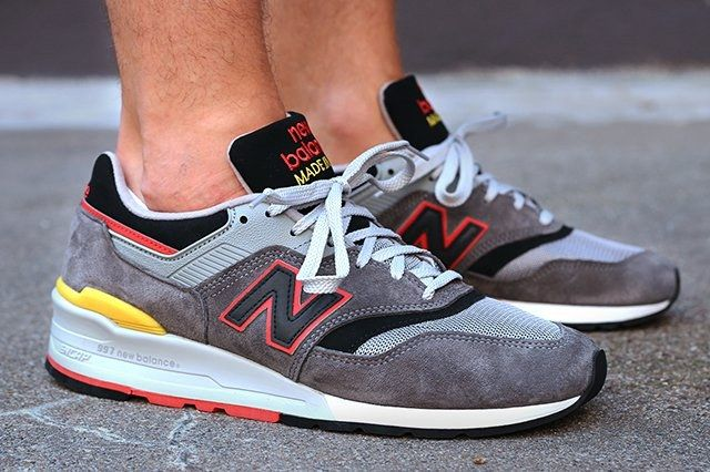 New Balance 997 Made In Usa Dark Grey