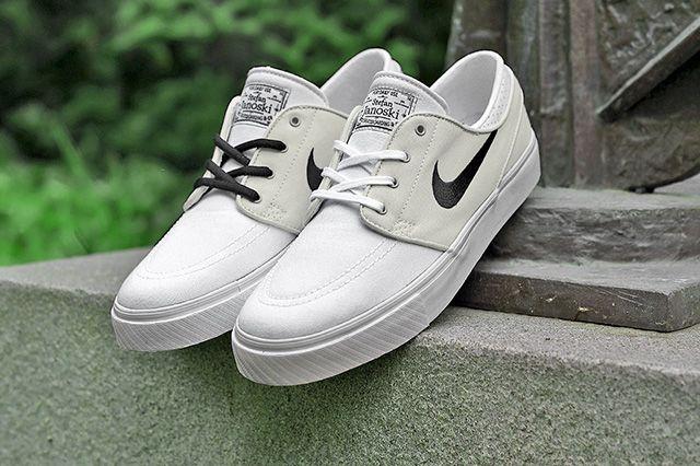 Nike Sb Zoom Stefan Janoski Canvas Grey White 4