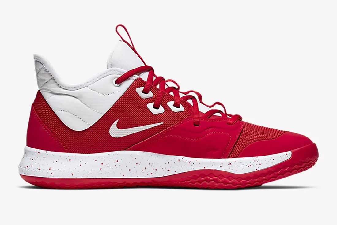 Nike Pg 3 Gear Up University Red Side1