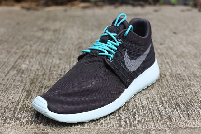 Nike Roshe Run Dynamic Flywire Qs Sport Turquoise Front 1