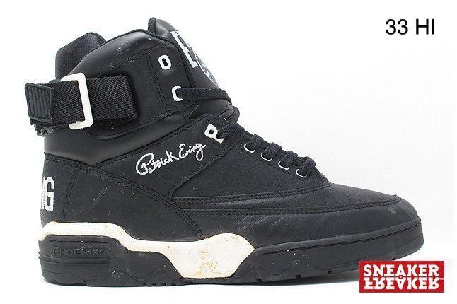 Ewing Sneakers 33 Hi Black 1