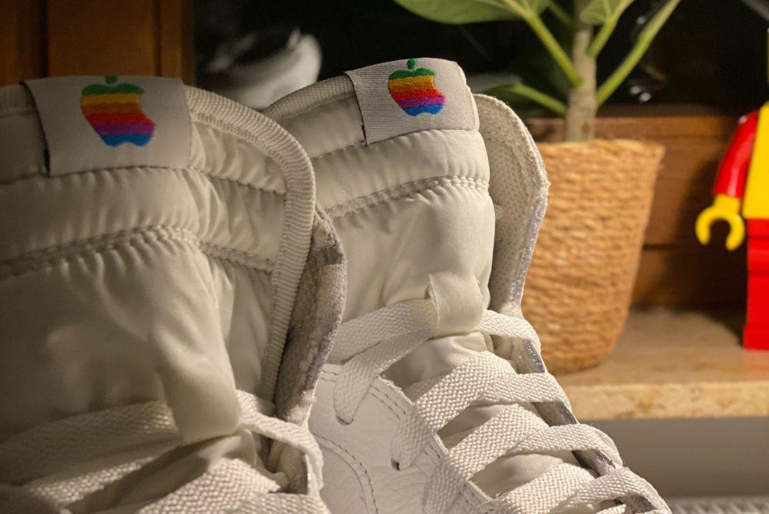 Thinking Different 'Air Mac' custom sneaker