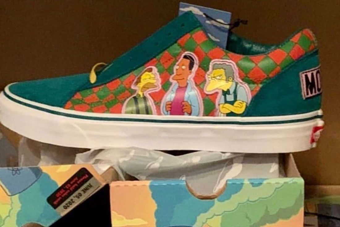 Simpsons Vans Old Skool Moe 2020