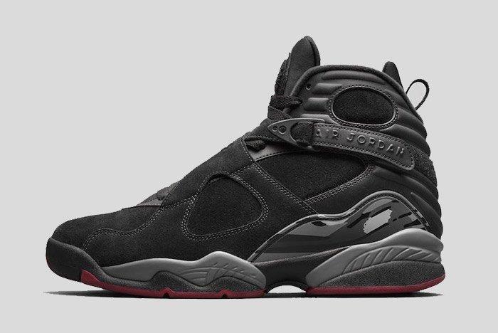 Air Jordan 8 Black Cement 1