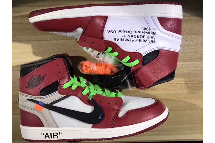 Off White X Air Jordan 1 Collaboration Surfaces4
