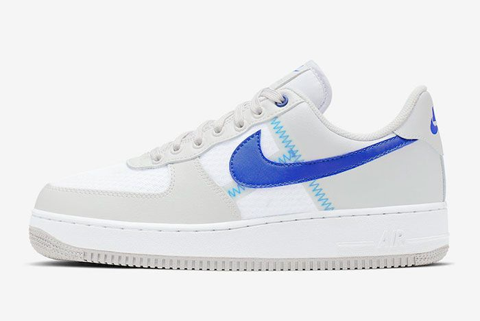 Nike Air Force 1 Low Racer Blue Ci0060 001 Lateral Side Shot